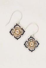 Holly Yashi Gold/Silver Gypsy Bloom Earring