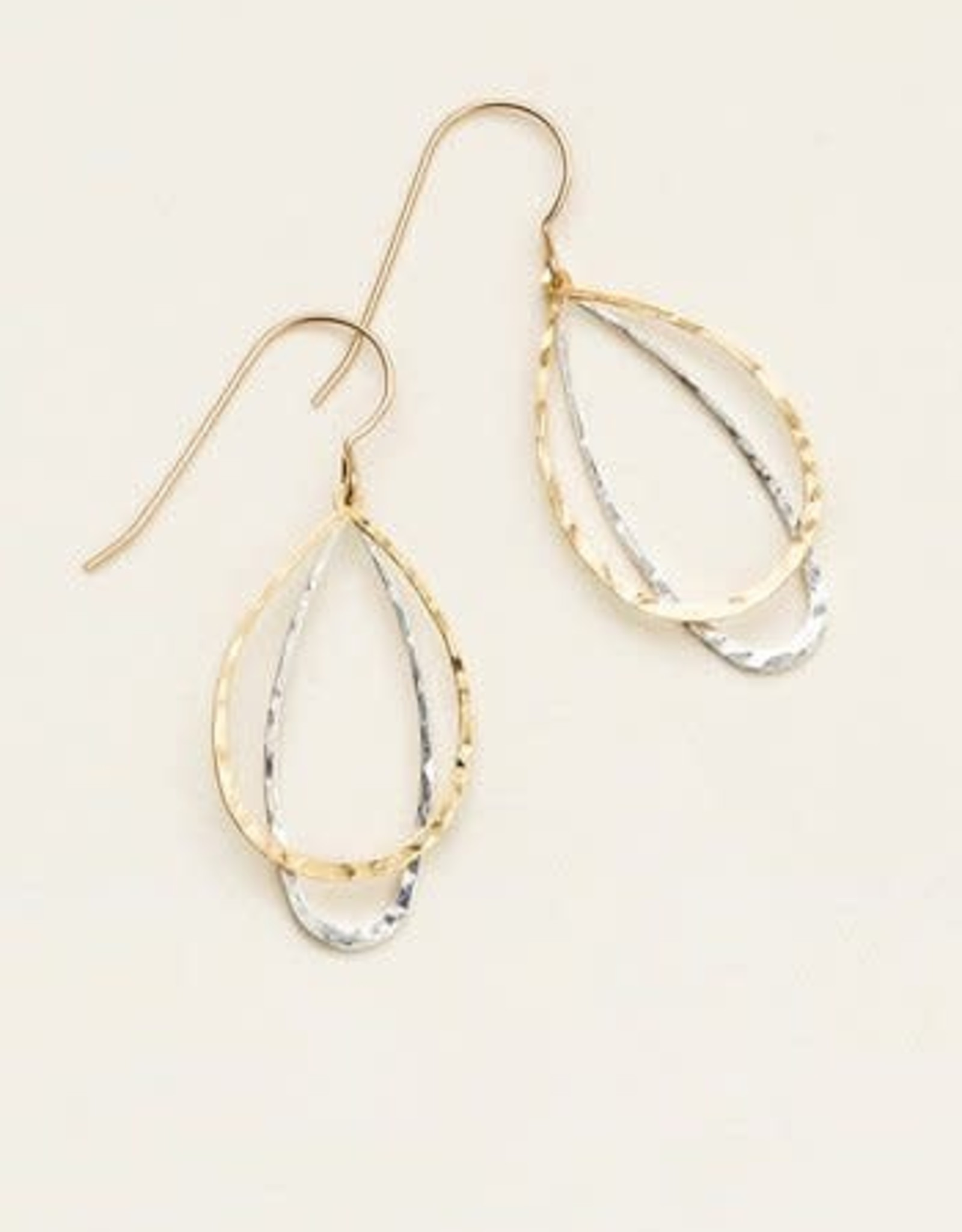 Holly Yashi Holly Yashi In the loop earring silver/gold