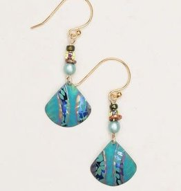 Holly Yashi Holly Yashi Teal Painterly Earrings