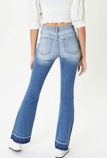 AAAAA Fashion Washed Flared Jeans