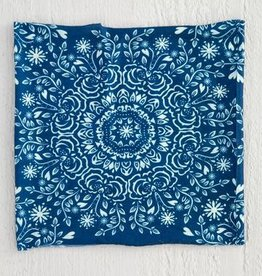 Natural Life Half Bandeau Navy Cream Mandala