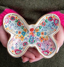 Natural Life Butterfly Trinket Dish