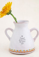 """Natural Life Bud Vase """"I didn't choose you, my heart did"""""""