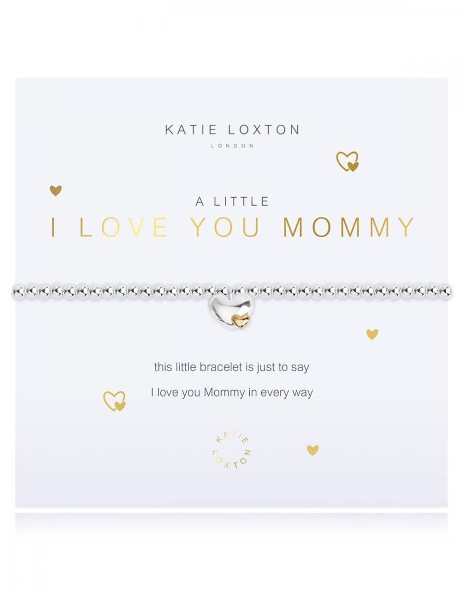 Katie Loxton I Love You Mommy Bracelet