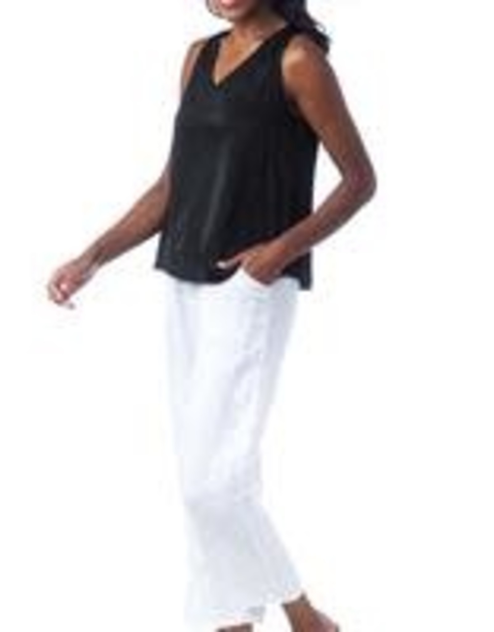 Cobblestone Brooklyn Drawstring Pants White SM
