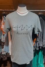 familiar goods Aurora Zipcode Shirt Heather