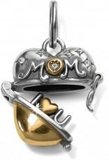 Brighton Mother's Love Heart Charm
