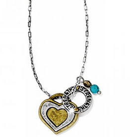 Brighton Art and Soul Heart Necklace