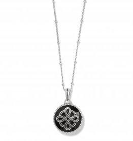 Brighton Interlock Noir Reversible Necklace