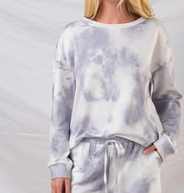 Trend:Notes Tie Dye Lounge Top