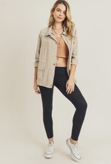 Doe & Rae Utility Linen Jacket