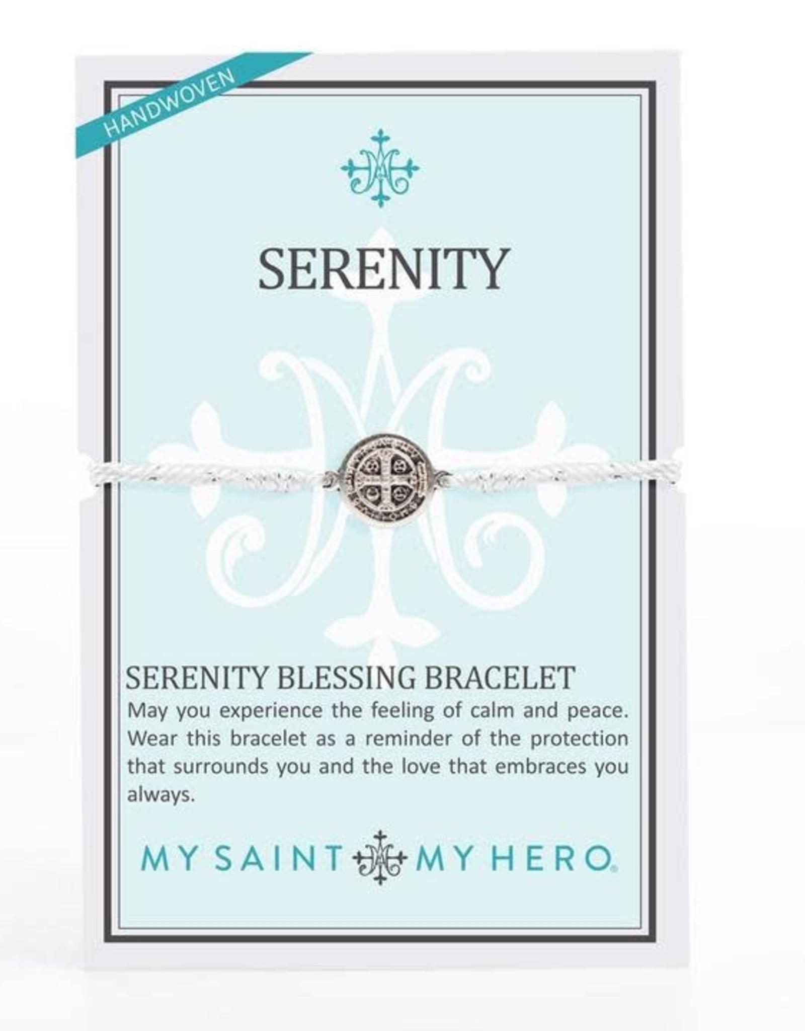 My Saint My Hero Serenity Bracelet Silver/Silver