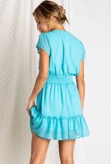 ABeauty By BNB V-Neck Mini Dress