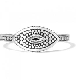 Brighton Pebble Disc Marquise Cuff Bracelet