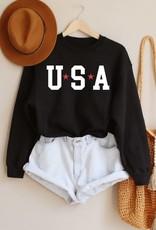 Benie USA STAR  Crewneck Sweatshirt