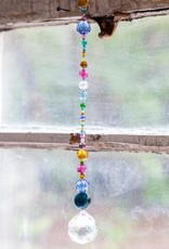 Natural Life Multicolored Crystal Sun Catcher