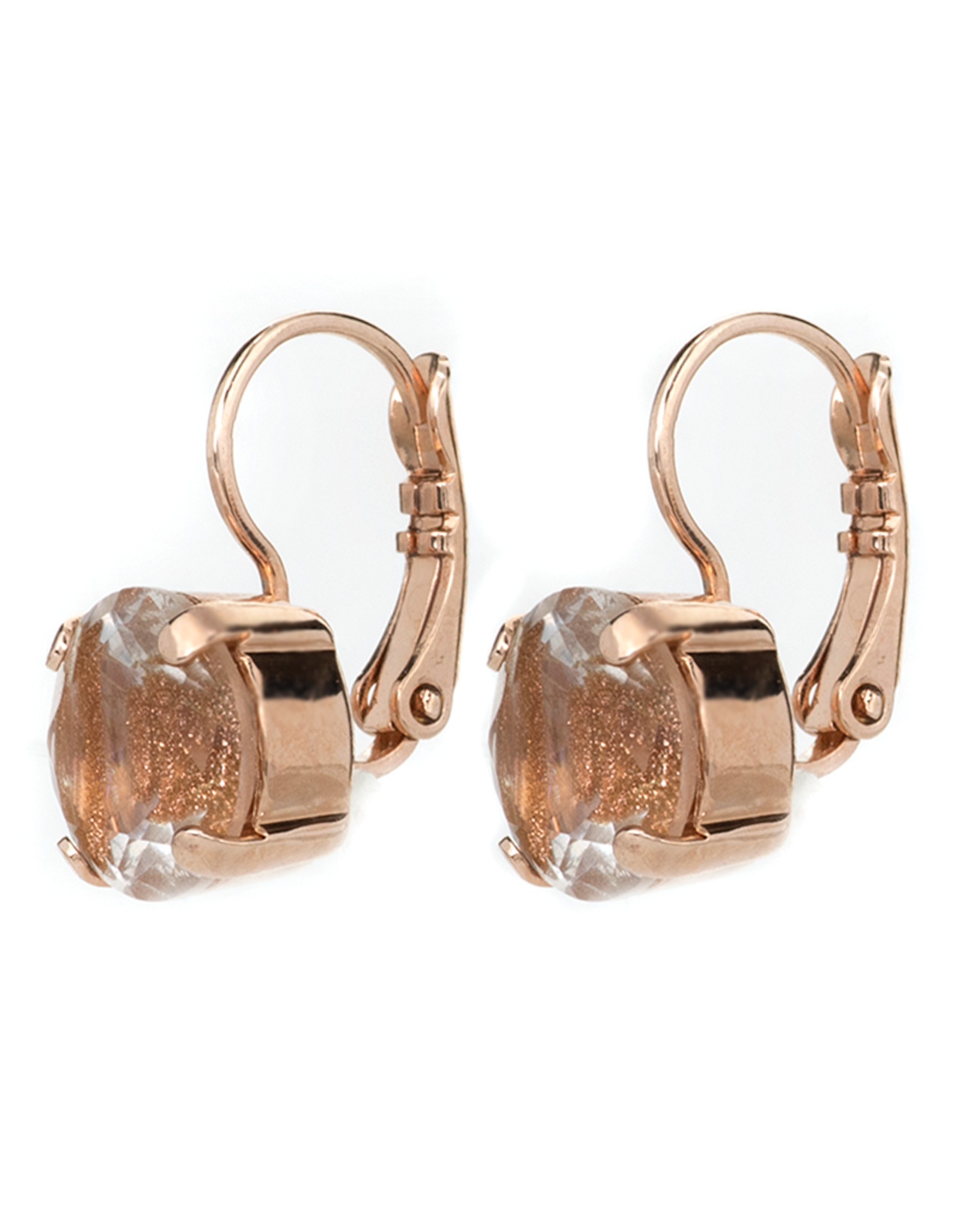 Mariana Mariana Drop Crystal Earrings Topaz Sparkle