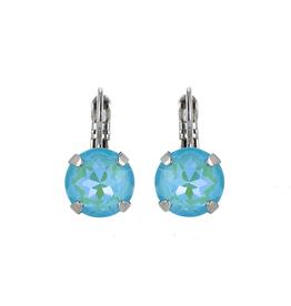 Mariana Large Aqua Drop Earrings