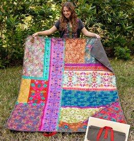 Natural Life Natural Life Picnic Blanket XL Patchwork