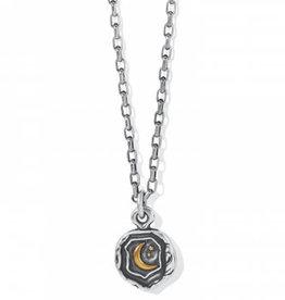 Brighton Ferrara Virtue Crescent Moon Pendant Necklace
