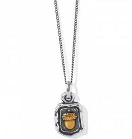 Brighton Ferrara Virtue Acorn Petite Necklace
