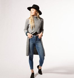 Hadley Wren Long Courtney Split Sweater Poncho