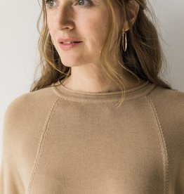 Cobblestone Cobblestone Vera  Camel Sweater