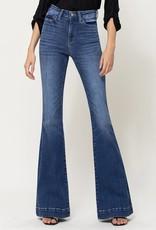 Vervet Stretch High Rise Flare Jeans