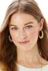 Brighton Fiji Sparkle Hoop Earrings
