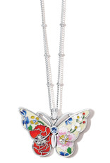 Brighton Blossom Hill Petite Butterfly Necklace