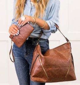 Dani & Em Oakly 2pc Handbag Purse Shoulder Bag