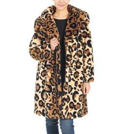 Coco & Carmen Harlow Faux Fur Coat S/M