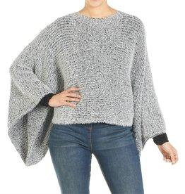 Coco & Carmen Shakira Pullover Sweater Black One Size