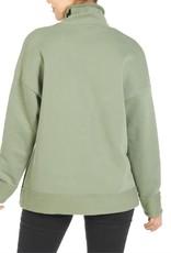 Coco & Carmen Game On Funnel Neck Sweatshirt