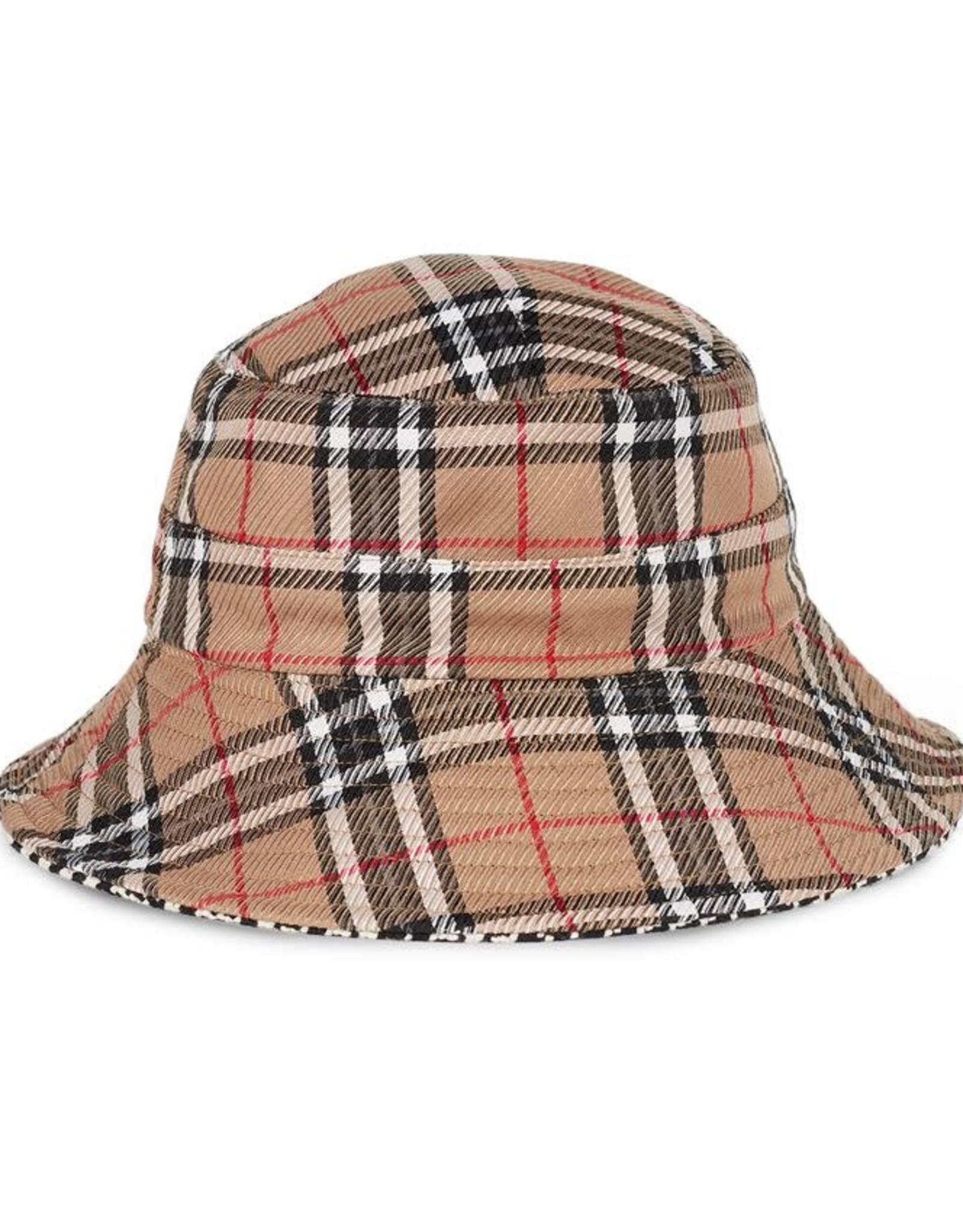 Coco & Carmen Liz Reversible Bucket Hat Plaid & Houndstooth