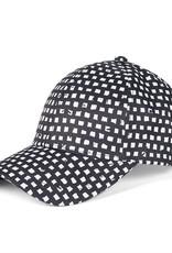 Coco & Carmen Ava Baseball Hat Black & White