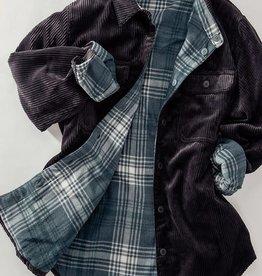 Trend:Notes Corduroy Reversible Button Down Jacket