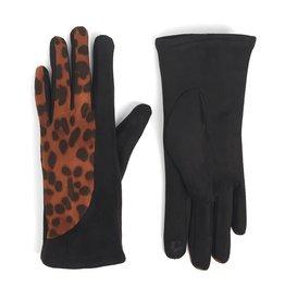 Coco & Carmen Microsoft Animal Print Touchscreen Gloves