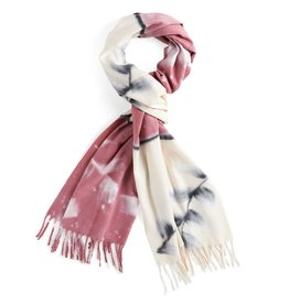 Coco & Carmen Floral Poetry Fringe Scarf