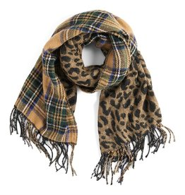 Coco & Carmen About Face Reversible Oblong Scarf