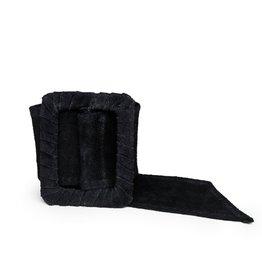 Cobblestone Cobblestone Sabrina Black Square Buckle Belt