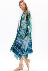 Aratta Victoria Albert Burnout Velvet Kimono