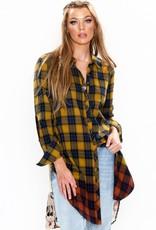 Aratta Cheetah Shirt Dress