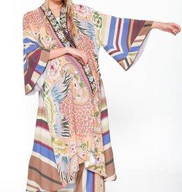 Aratta Peach Heaven Kimono One Size