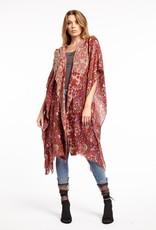 Aratta Holiday Mood Kimono One Size