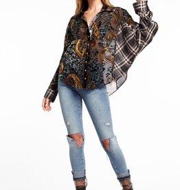 Aratta Dark Bay Dolman Shirt