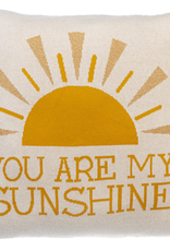 Ganz My Sunshine Cotton Knit Pillow