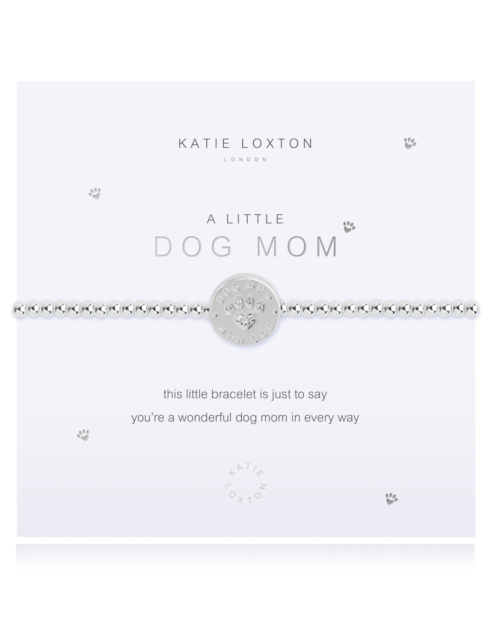 Katie Loxton A Little Dog Mom Bracelet