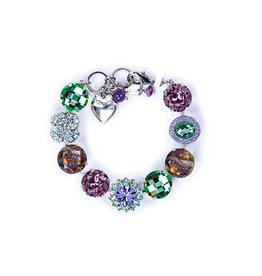 Mariana Extra Luxurious Cluster Bracelet Matcha