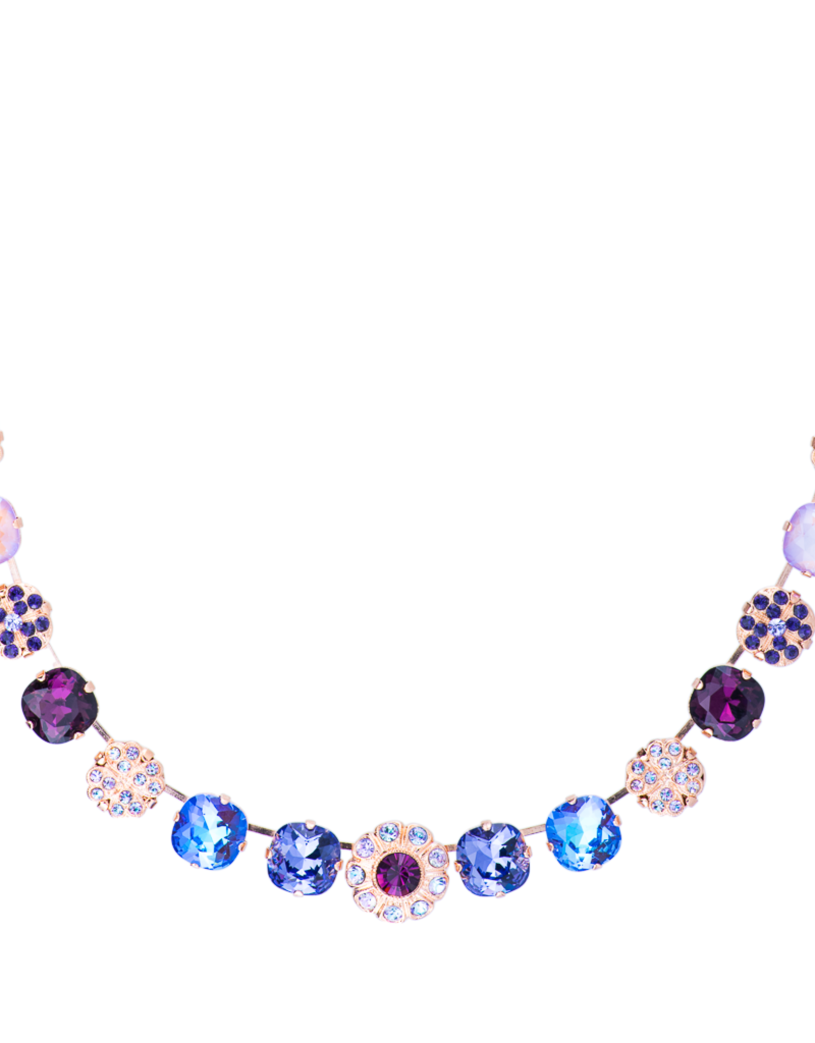 Mariana Wildberry Lovable Cushion Cut Element Necklace